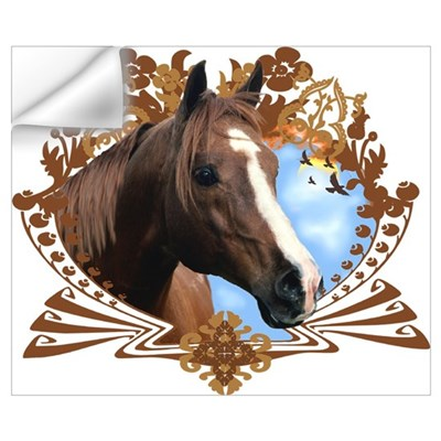 Horse Lover Crest Graphic Wall Decal