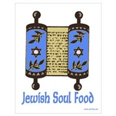 Jewish Soul Food Torah Poster