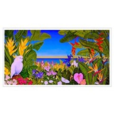 Tropical Paradise Art Framed Print