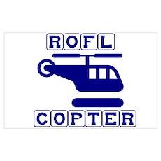Roflcopter Poster