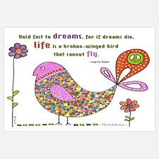 Langston Hughes Peacebird