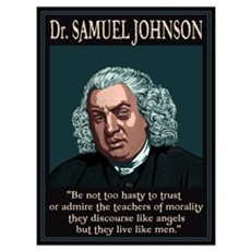 Dr. Samuel Johnson Poster