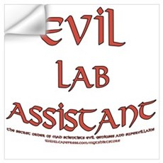 Evil Lab Assistant Wall Decal