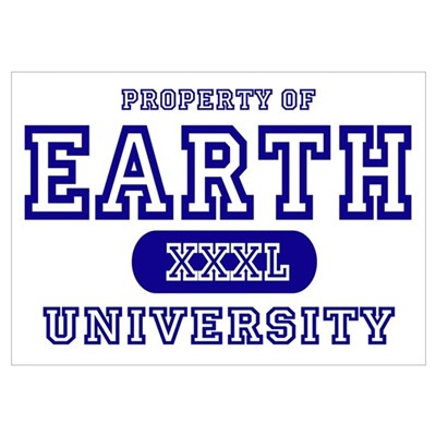 Earth University Property Poster