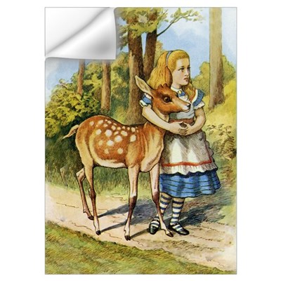 ALICE & THE DOE Wall Decal