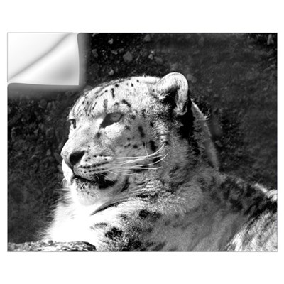 Snow Leopard 2 Wall Decal