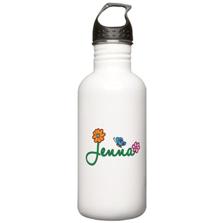 Jenna Flowers Stainless Water Bottle 1.0L