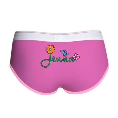 Jenna Flowers Women's Boy Brief