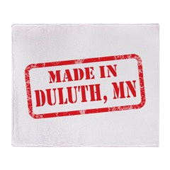 MADE IN DULUTH, MN Throw Blanket