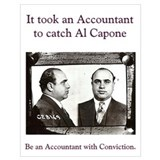 Al capone Wrapped Canvas Art