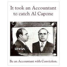 Al Capone Accountant 16 x 20 Poster