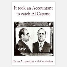Al Capone Accountant 16 x 20
