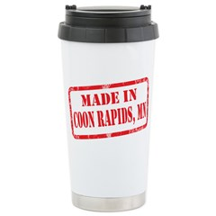 MADE IN COON RAPIDS, MN Stainless Steel Travel Mug