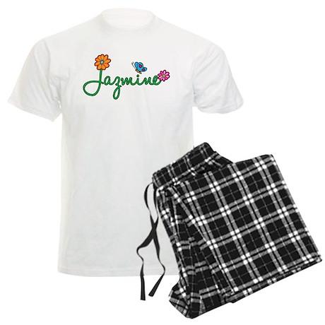 Jazmine Flowers Men's Light Pajamas
