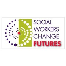 Social Workers Change Futures Framed Print