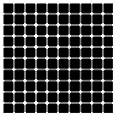 DOT Illusion Poster