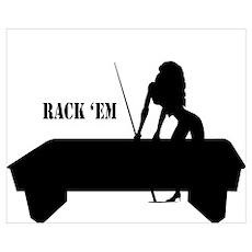 RACK 'EM Poster