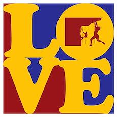 Climbing Love Poster
