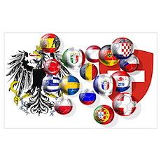 European Football Poster