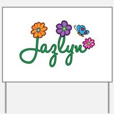 Jazlyn Flowers Yard Sign