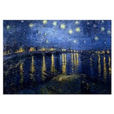 Starry Night Over the Rhone Canvas Art