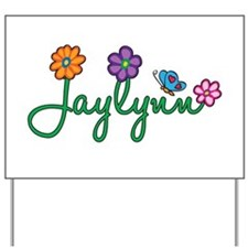 Jaylynn Flowers Yard Sign