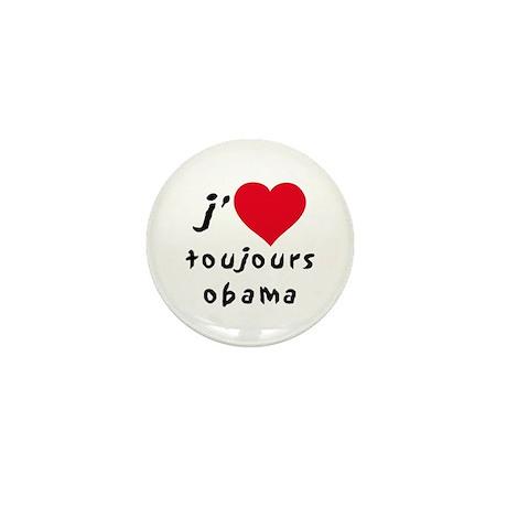 Obama toujours Mini Button (10 pack)