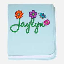 Jaylyn Flowers baby blanket