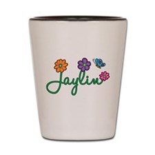 Jaylin Flowers Shot Glass