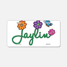 Jaylin Flowers Aluminum License Plate
