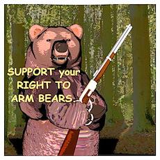 Arm Bears Poster