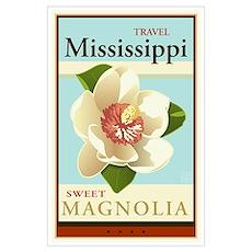 Travel Mississippi Poster