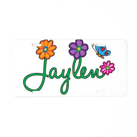 Jaylen Flowers Aluminum License Plate