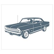 1967 Chevrolet Nova SS Poster