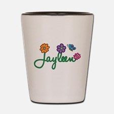 Jayleen Flowers Shot Glass