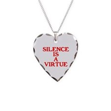 SILENCE IS A VIRTUE™ Necklace