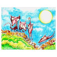 Rat Moon Poster