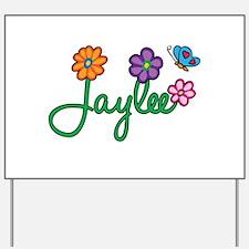 Jaylee Flowers Yard Sign