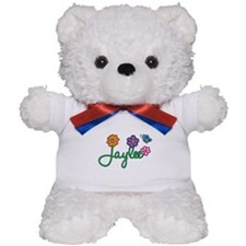 Jaylee Flowers Teddy Bear