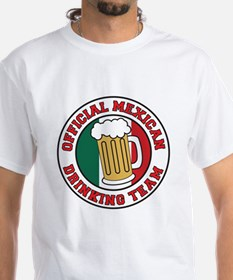 Official Mexican Drinking Tea Shirt