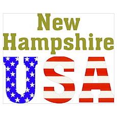 New Hampshire USA Poster