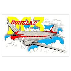 DOUGLAS DC-3 Poster