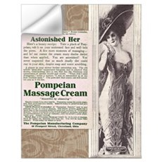 Pompeian Cream 1909 ad Wall Decal