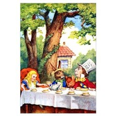 MAD HATTER TEA PARTY Framed Print