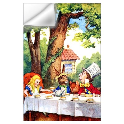 MAD HATTER TEA PARTY Wall Decal