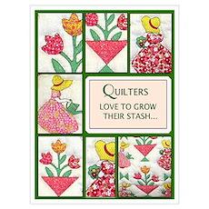 Garden Quilt Poster