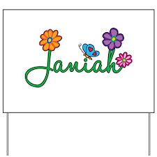 Janiah Flowers Yard Sign