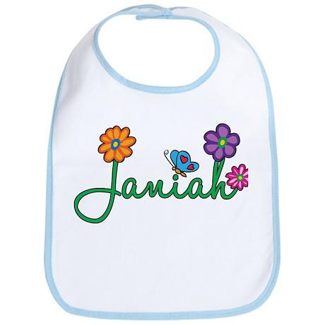 Janiah Flowers Bib