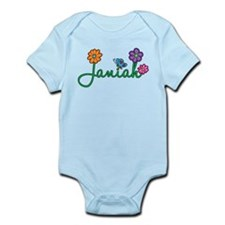 Janiah Flowers Infant Bodysuit