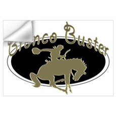 Bronco Buster Wall Decal